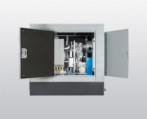 BAUER I 23 Super-Silent high-pressure compressor – interior view