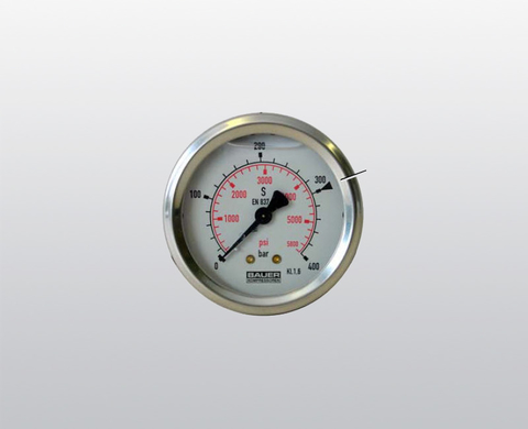 Intermediate pressure gauge kit