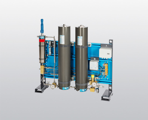 BAUER P 120 high-pressure filter system for air and gas treatment