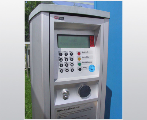 TA 2331 – automatic fuel vending machine for station card operation (e.g. depot filling station)