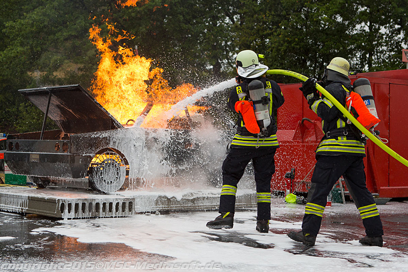 Firefighting under pressure